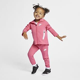 Nike Sportswear Tech Fleece Conjunto de sudadera con capucha y pantalones para bebé