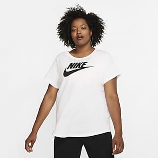 Nike Sportswear Essential Dámské tričko (větší velikost)