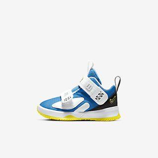 Blue LeBron James Shoes. Nike.com
