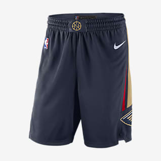 New Orleans Pelicans Icon Edition Men's Nike NBA Swingman Shorts