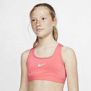 Nike Αθλητικός στηθόδεσμος για μεγάλα κορίτσια
