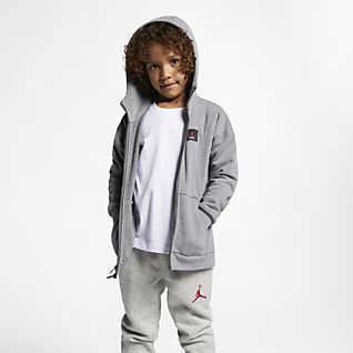 Jordan Flight Lite Younger Kids' Full-Zip Hoodie
