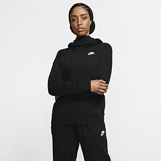 Nike Sportswear Women's Funnel-Neck Hoodie