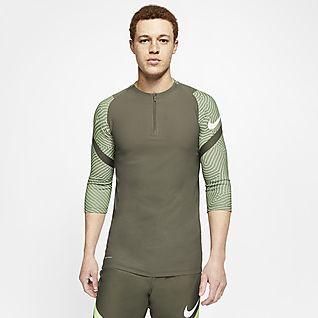 Nike VaporKnit Strike Męska treningowa koszulka piłkarska