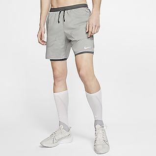 Nike Flex Stride Calções de running 2 em 1 de 18cm para homem