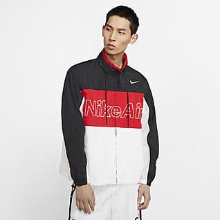 Nike Air Dunjacka med huva för män