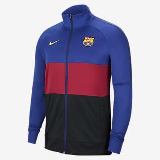 FC Barcelona Veste de survêtement de football pour Homme