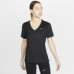 Nike Victory Женская футболка с коротким рукавом для тренинга