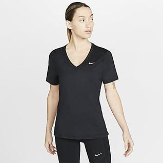 Nike Victory Part superior de màniga curta d'entrenament - Dona