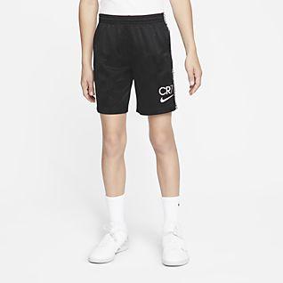 Nike Dri-FIT CR7 Big Kids' Soccer Shorts