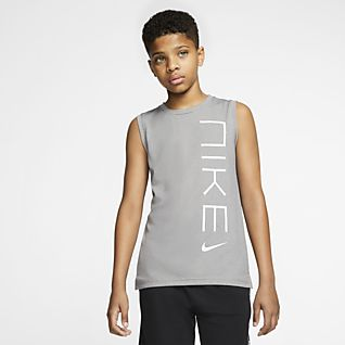 Nike Big Kids' (Boys') Sleeveless Training Top