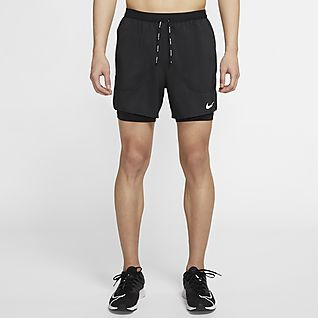 Nike Flex Stride กางเกงวิ่งขาสั้น 5 นิ้ว 2-In-1 ผู้ชาย