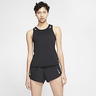 Nike AeroSwift Samarreta de running - Dona