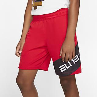 Nike Elite Shorts da basket con grafica - Ragazzo