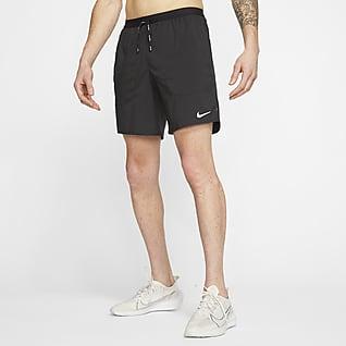 Nike Flex Stride Мужские беговые шорты с подкладкой