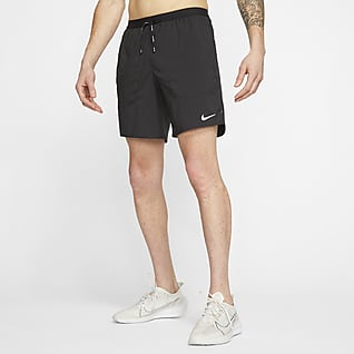 Nike Flex Stride Löparshorts med innerbyxor för män