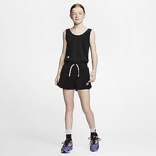 Nike Sportswear Heritage Older Kids' (Girls') Romper