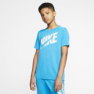 Store børn Børn Træning og fitness Toppe og T shirts. Nike DK