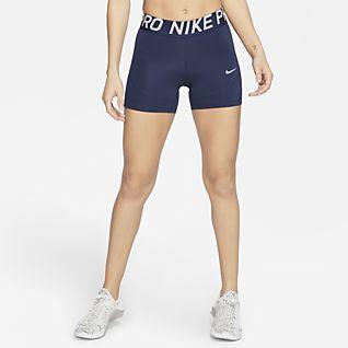 Nike Pro Pantalón corto de 13 cm - Mujer