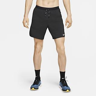Nike Flex Stride 18 cm 2'si 1 Arada Erkek Koşu Şortu