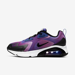 Girls Synthetic Air Max 200 Shoes. Nike PT