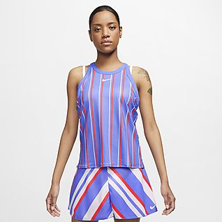 NikeCourt Dri-FIT Women's Printed Tennis Tank