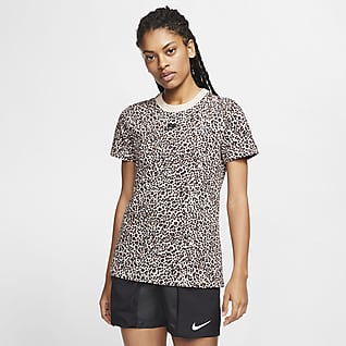Nike Sportswear Tee-shirt avec imprimé animal pour Femme