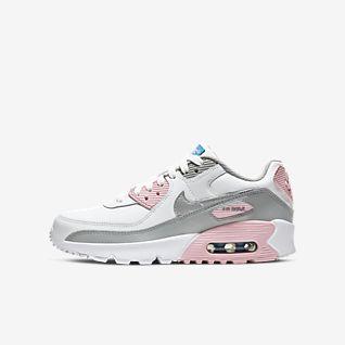 Girls' Air Max 90 Shoes. Nike NO
