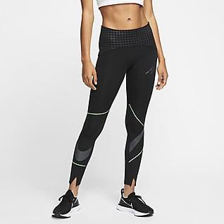 Nike Speed Leggings da running a 7/8 a vita media - Donna