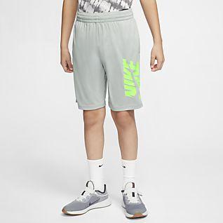 Nike Tréninkové kraťasy pro větší děti (chlapce)