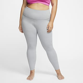 Nike Yoga Luxe Women's High-Waisted 7/8 Infinalon Pocket (Plus Size)