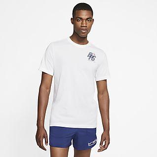 ナイキ Dri-FIT ブルー リボン スポーツ ランニング Tシャツ