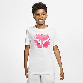 NikeCourt Dri-FIT Rafa Tee-shirt de tennis pour Garçon plus âgé