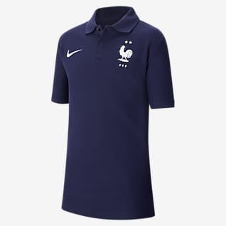 FFF Older Kids' Football Polo