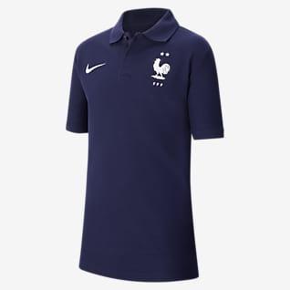 FFF Koszulka piłkarska polo dla dużych dzieci