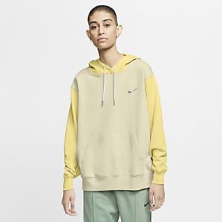 Nike Sportswear Pullover-hættetrøje med Swoosh til kvinder