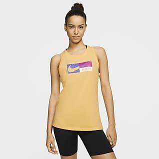 Nike Dri-FIT Icon Clash Camiseta de tirantes de entrenamiento estampada para mujer