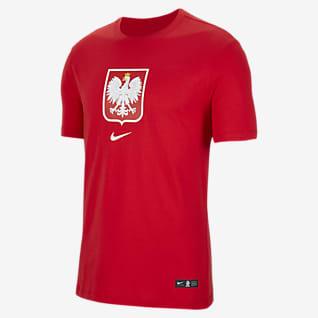 Polen Fotball-T-skjorte til herre