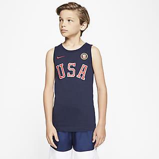 Nike Sportswear Team USA Camiseta de tirantes para niño talla grande