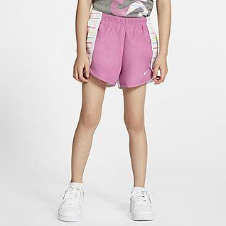 NEW Girls Running Shorts Size Medium 7-8 Summer Athletic Silky Multi-color