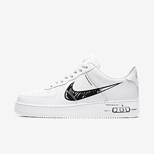 nike air force bianche basse uomo