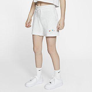 Nike Sportswear Older Kids' (Girls') Shorts