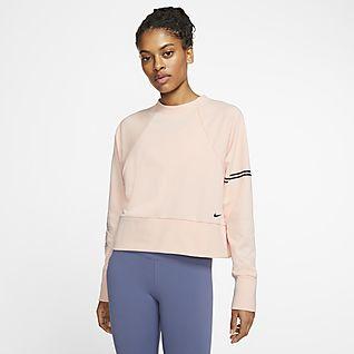 Nike Pro Dri-FIT Get Fit Damen-Rundhalsshirt