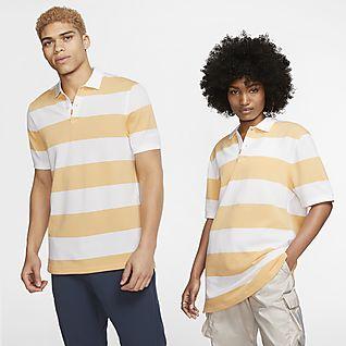 The Nike Polo 中性條紋有領衫