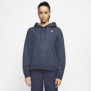 Femmes Bleu Sweats à capuche et sweat shirts. Nike FR