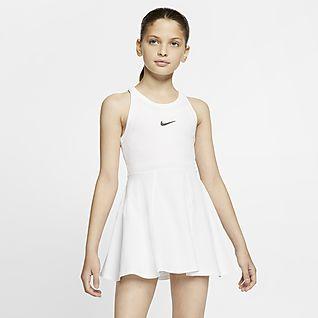 NikeCourt Dri-FIT Φόρεμα τένις για μεγάλα κορίτσια
