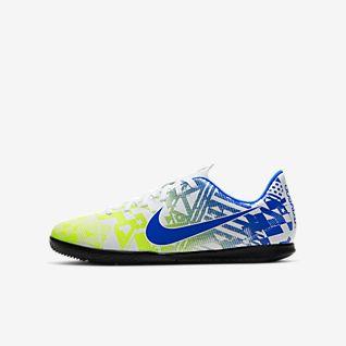 Nike Jr. Mercurial Vapor 13 Club Neymar Jr. IC Chaussure de football en salle pour Jeune enfant/Enfant plus âgé