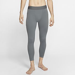 Nike Yoga Dri-FIT Tights a 3/4 em Infinalon para homem