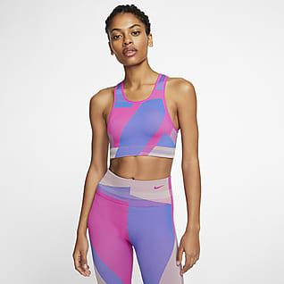 Nike Icon Clash สปอร์ตบราผู้หญิงไร้ตะเข็บซัพพอร์ตระดับต่ำ