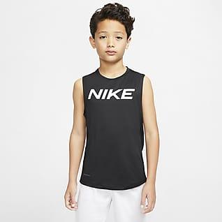 Nike Pro Prenda para la parte superior para niño talla grande